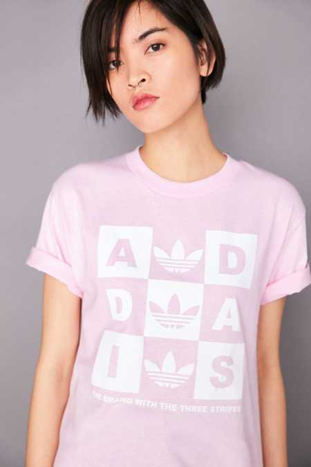 adidas Originals + UO Checker Tee