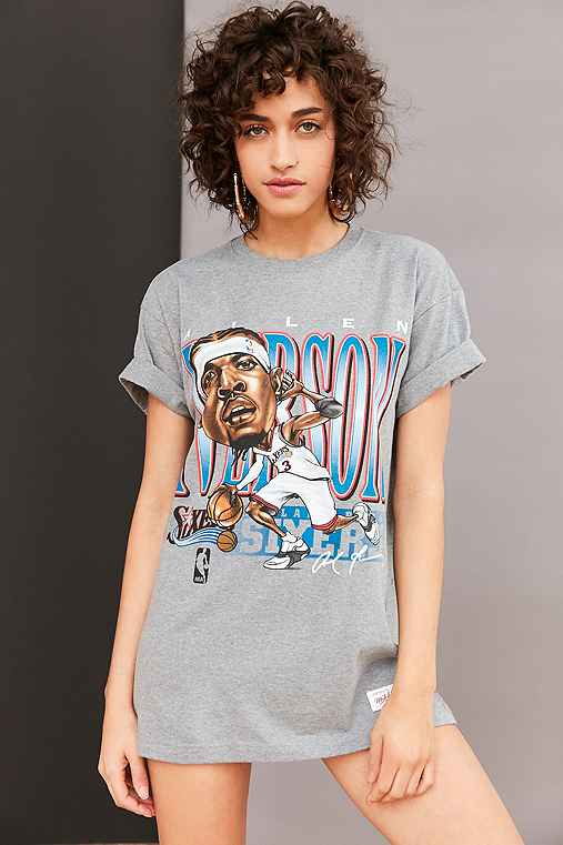 Mitchell & Ness NBA Sketch Tee,IVERSON / SIXERS,L