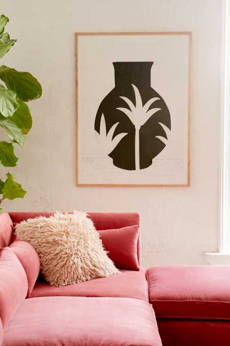 Samantha Totty Palm Pot Print