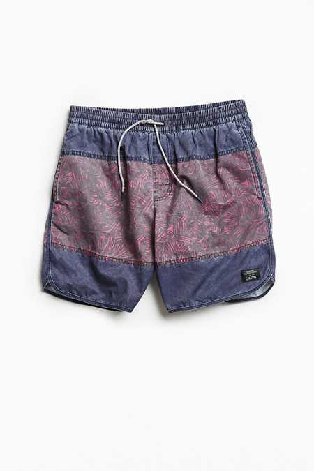 UO X Katin Abstract Colorblocked Dolphin Swim Short