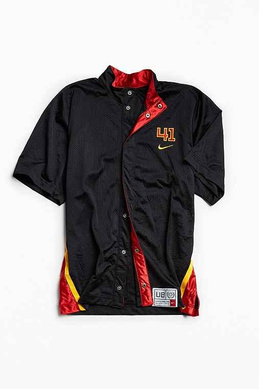 Vintage United Ballers Dirk Nowitzki Shooting Shirt,BLACK,M