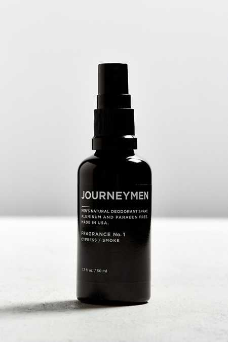 Journeymen Natural Deodorant Spray