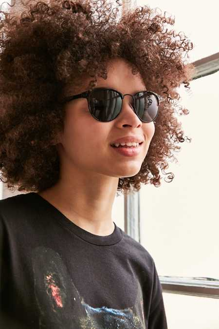 Camille Painted Square Sunglasses