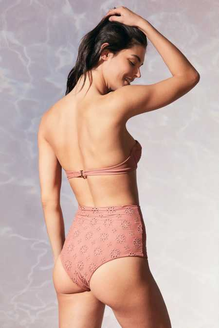 Tori Praver Swimwear Daphne High-Waisted Bikini Bottom