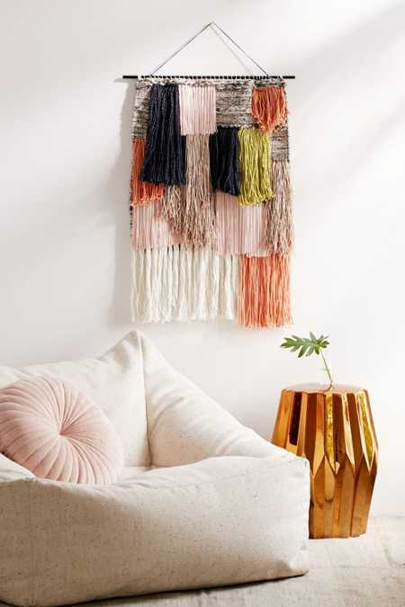 Woven Fringe Wall Hanging