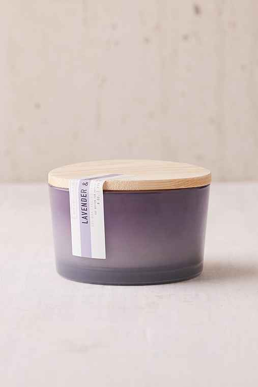 Paddywax Ombre Sky Candle,LAVENDER + SMOKE,ONE SIZE