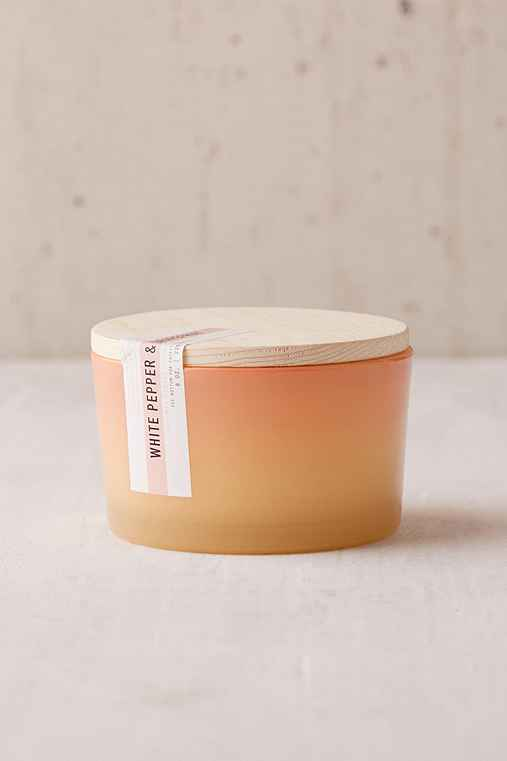 Paddywax Ombre Sky Candle,WHITE PEPPER + GRAPEFRUIT,ONE SIZE