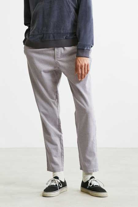 UO Patterned Elastic Waist Chef Pant