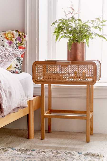 Marte Rattan Side Table