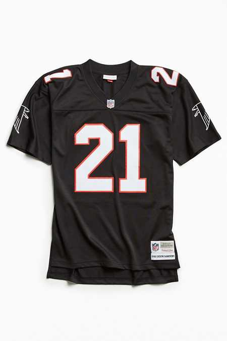 Mitchell & Ness NFL Replica Deion Sanders Atlanta Falcons Jersey