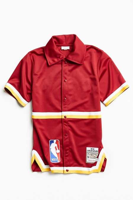 Mitchell & Ness Authentic NBA Cleveland Cavaliers Shooting Shirt