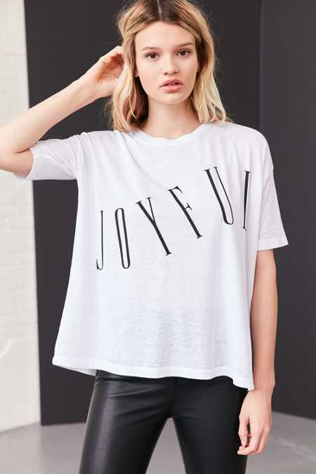 Silence + Noise Tall Text Tee