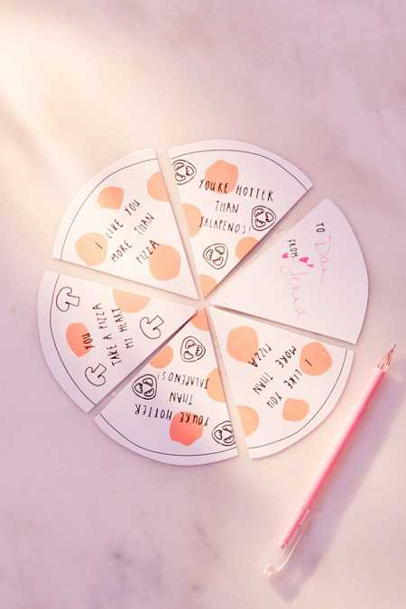 Meri Meri Pizza Love Notes Set