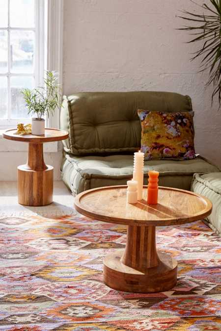 Sierra Round Wood Coffee Table
