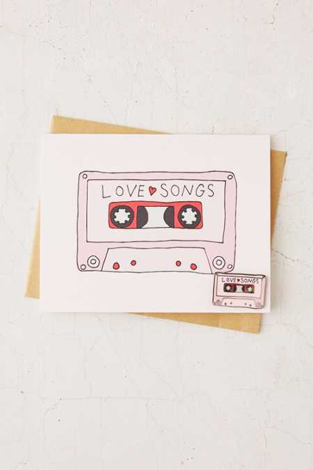 Valley Cruise Press Love Mixtape Pin + Greeting Card
