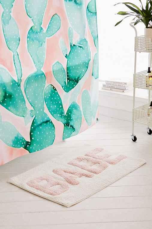 Babe Bath Mat,PEACH,ONE SIZE