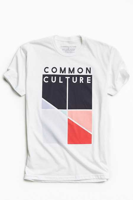 Common Culture Abstract Tee