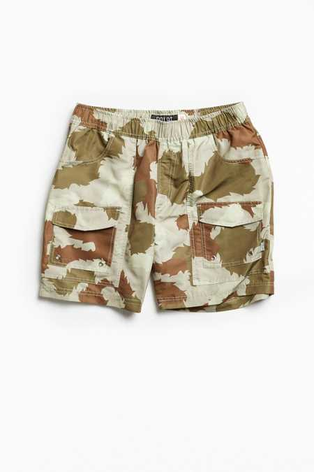 Poler Furry Camo Volley Camp Short