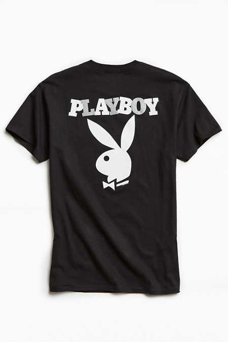 Junk Food Playboy Logo Pocket Tee
