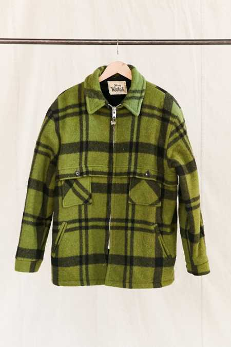 Vintage Woolrich Plaid Coat