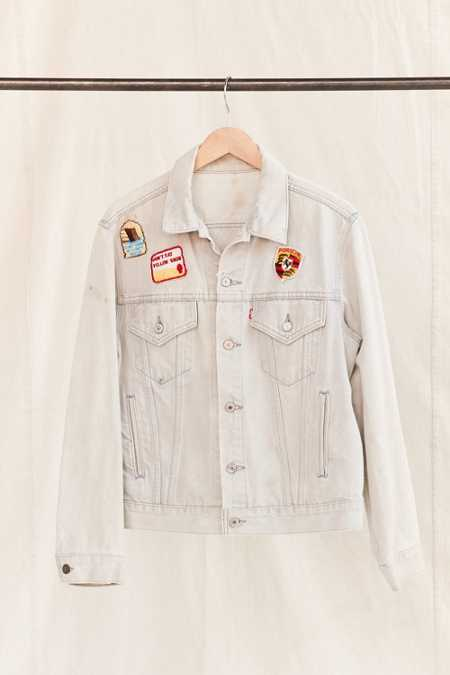 Vintage Levi's Patched Denim Jacket