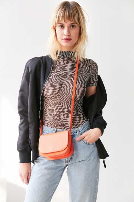 Sheryl Saddle Crossbody Bag
