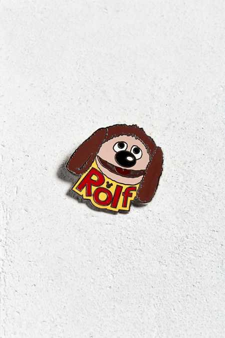 Vintage Muppets Rolf Pin