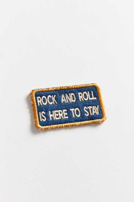Patch Ya Later Rock And Roll Patch
