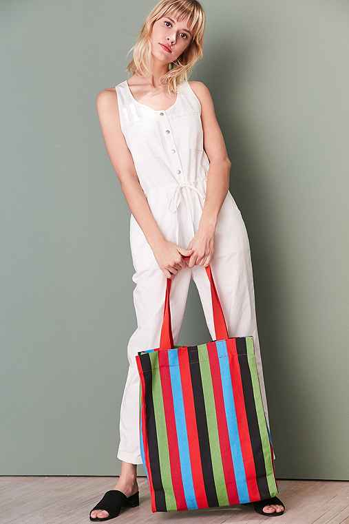 Alison Striped Tote Bag