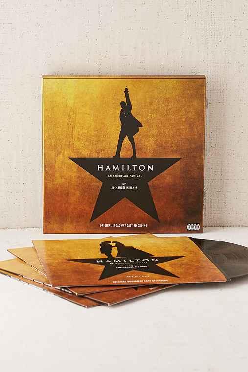 Various Artists - Hamilton (Original Broadway Cast Recording) 4XLP,BLACK,ONE SIZE