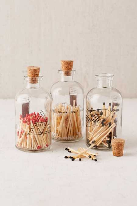 Skeem Inc Apothecary Match Jar
