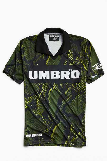 Umbro X House Of Holland Snake Print Polo Shirt