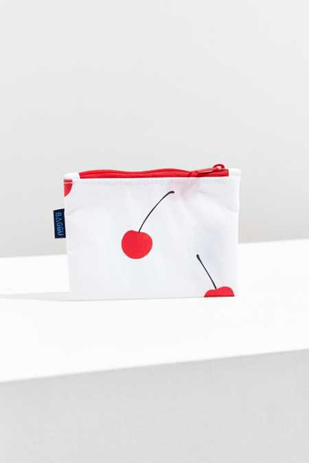 BAGGU Spring Small Flat Zip Pouch