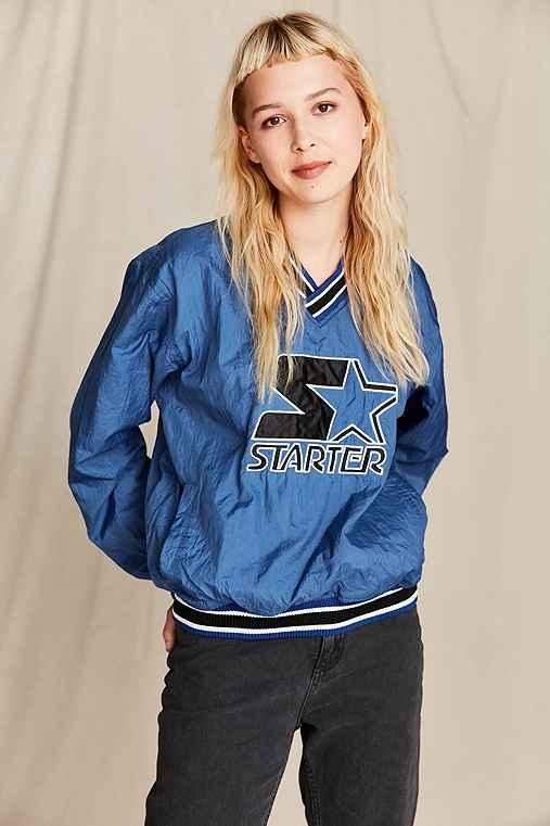Vintage Starter Blue Bomber Jacket,ASSORTED,ONE SIZE