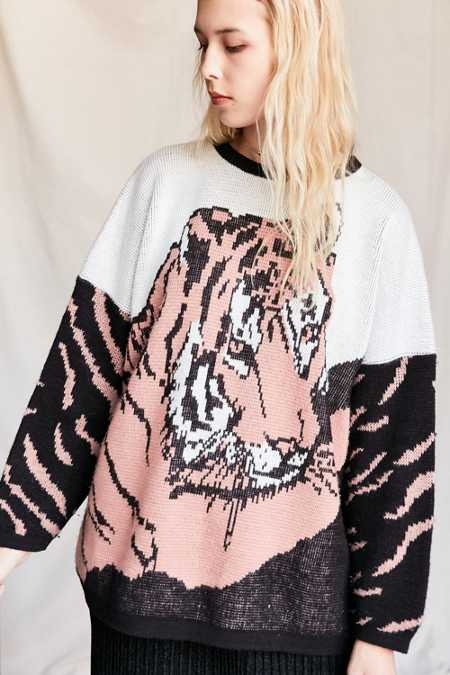 Vintage Tiger Sweater