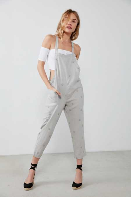BDG Shapeless Cropped Overall