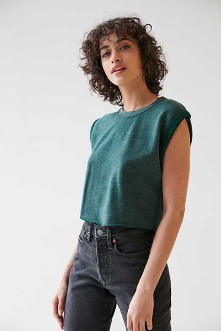 Truly Madly Deeply Tina Roll Sleeve Top