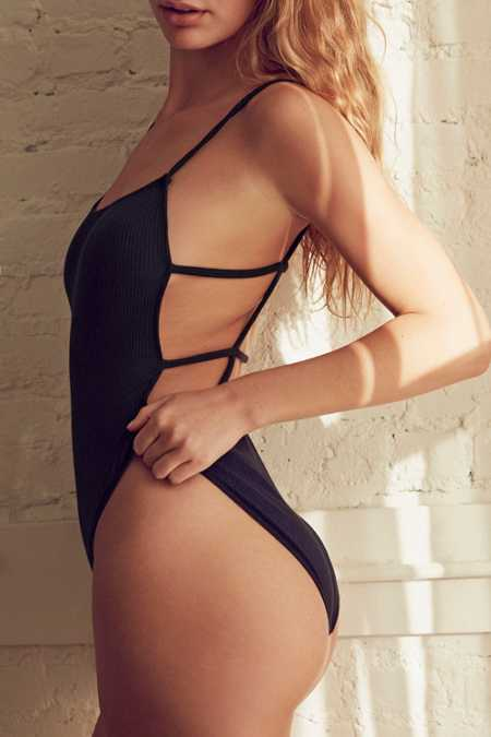 Out From Under Annie Strappy Back Bodysuit