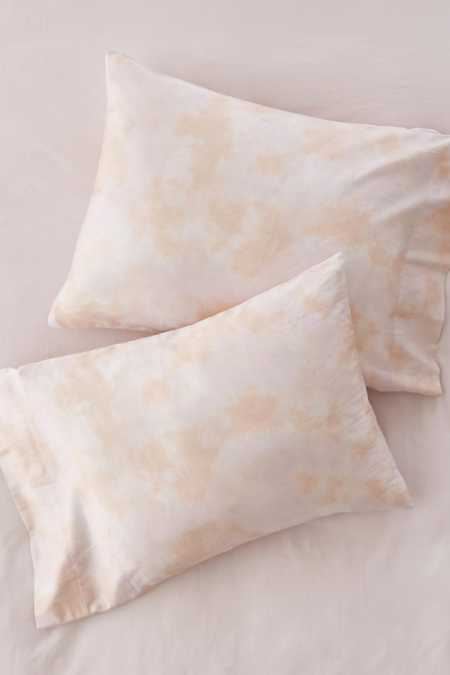 Subtle Tie-Dye Pillowcase Set