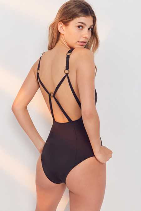 Out From Under Ring The Alarm One-Piece Swimsuit