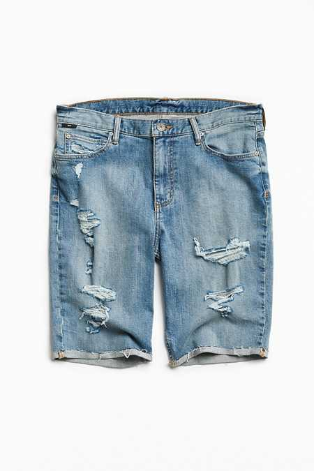BDG Destructed Stonewash Denim Short