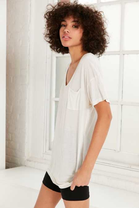 Truly Madly Deeply Slouchy Pocket Tee