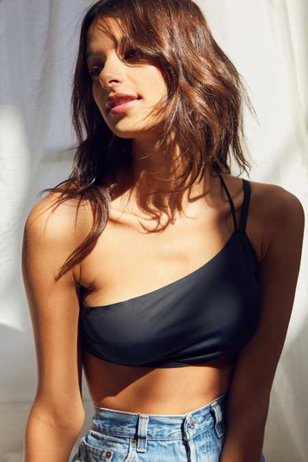 Out From Under Devin Asymmetrical One-Shoulder Bra