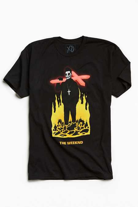 The Weeknd Crucifix Tee