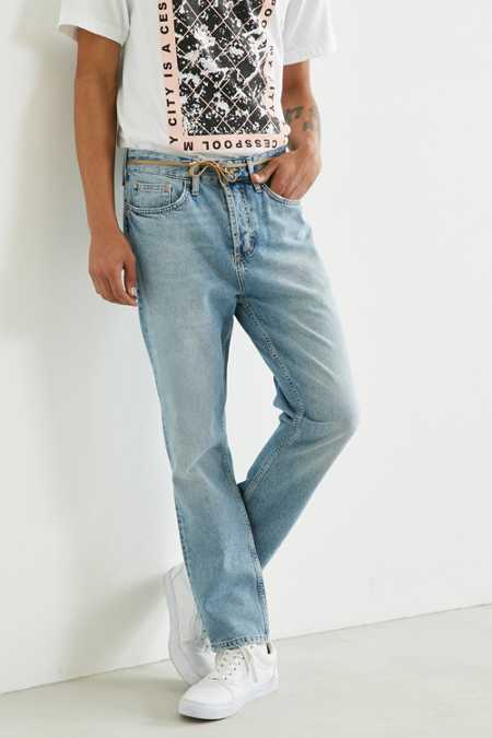 BDG Light Stonewash Dad Jean