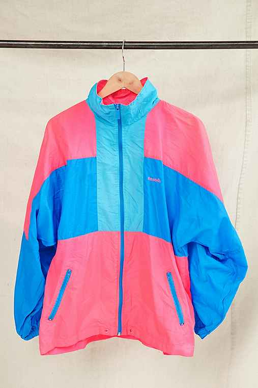 Vintage Reebok Windbreaker Jacket,ASSORTED,ONE SIZE