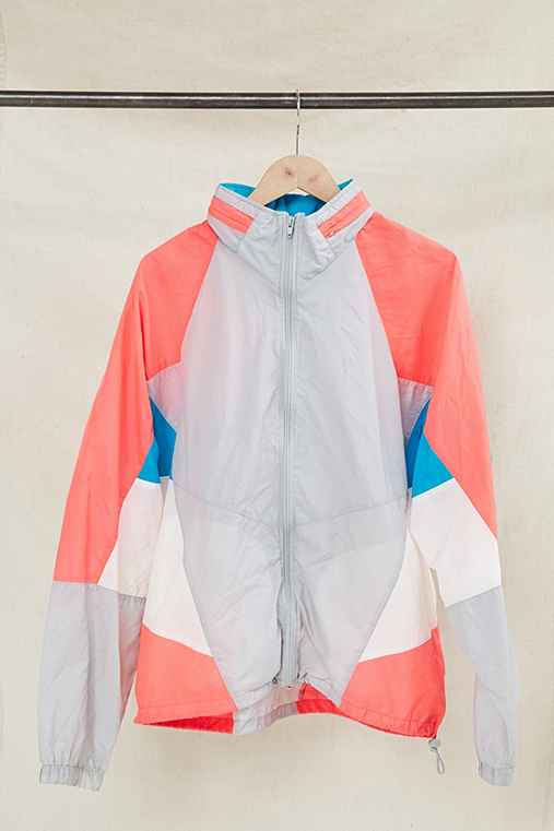 Vintage Nike Color Block Windbreaker Jacket,ASSORTED,ONE SIZE