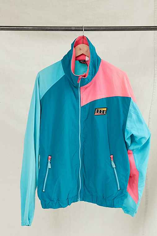 Vintage Nike Aqua Gear Windbreaker Jacket,ASSORTED,ONE SIZE
