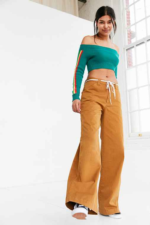Silence + Noise Stacy Skater Chino Pant,TAUPE,0