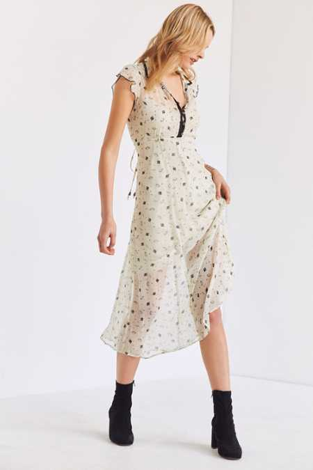 Cooperative Space Cowgirl Midi Dress